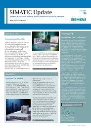 SIMATIC Update 36 - Industry - Siemens Nederland
