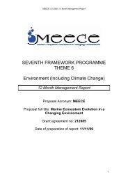 12 Month Management Report - meece