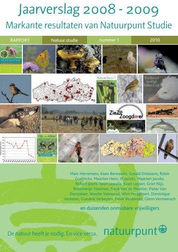 waterspitsmuizen in jaarverslag studie 2008-2009 - Natuurpunt