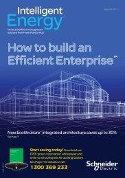 Intelligent Energy Magazine - September 2012 - Schneider Electric