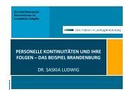Vortrag von Dr. Saskia Ludwig: