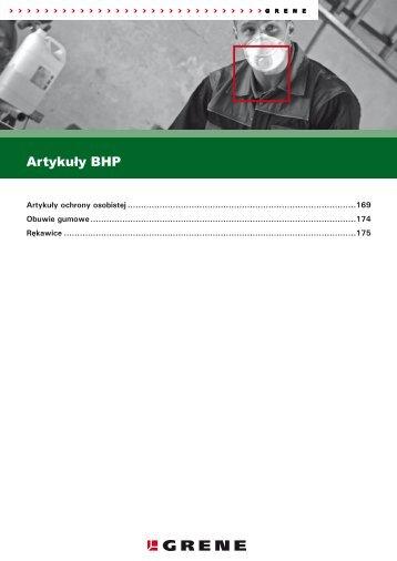 Artykuły BHP - Grene