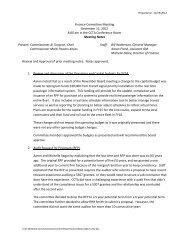 Finance Committee Meeting December 12, 2012 8:00 am in ... - CCTA