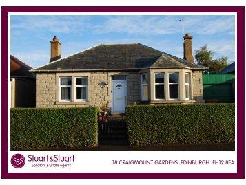 18 craigmount gardens, edinburgh eh12 8ea - Stuart & Stuart