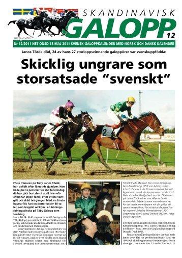 """Skicklig ungrare som storsatsade """"svenskt"""" - Øvrevoll Galoppbane"""