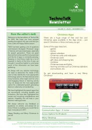Vol 19, No 6 – Access Options for iProducts - Cerebral Palsy Alliance