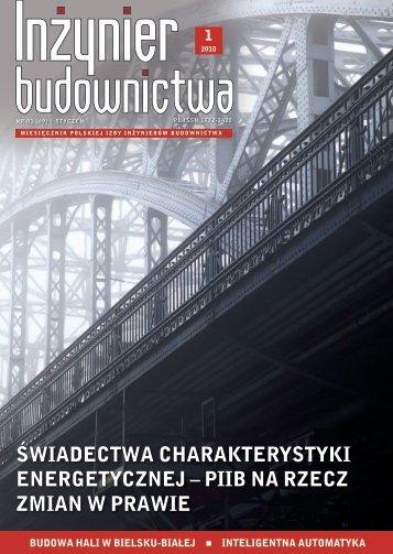 ŚWIADEcTWA cHArAKTErYSTYKI ENErGETYczNEJ - Polska Izba ...