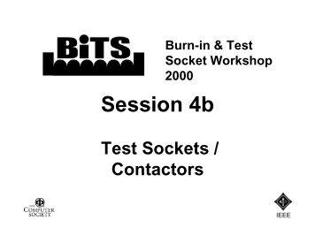 Johnstech International - BiTS Workshop
