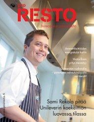 Sami Rekola pitää Unileverin koekeittiön luovassa tilassa - PubliCo Oy