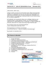 zum InfoTrain II-2011 - Hamburgs Kursportal WISY