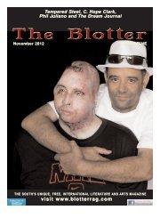 November - The Blotter