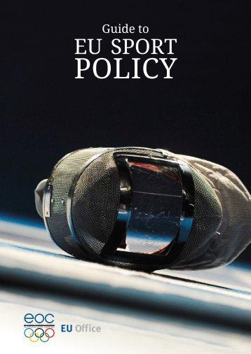 eu sport policy: evolution - Nphf