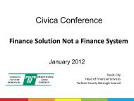 Finance Solution Not a Finance System