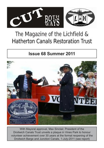 Summer - Issue No. 68 - Lichfield and Hatherton Canals Restoration ...