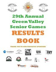 2013 Results Booknew1.pdf - Green Valley Recreation