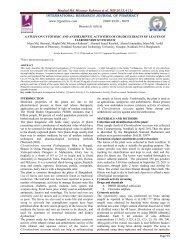 Moghal Md. Mizanur Rahman et al. IRJP 2013, 4 (1) - International ...