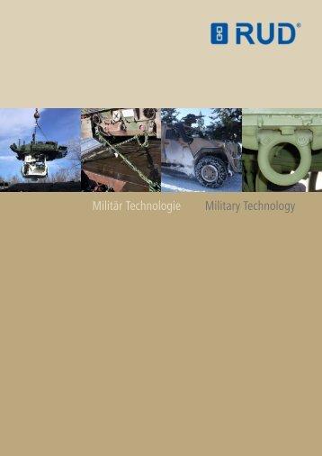 Militär Technologie Military Technology - RUD