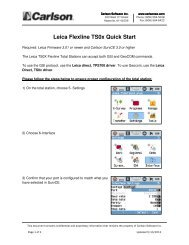Leica TS0x_SurvCE 3.pdf - Carlson Software