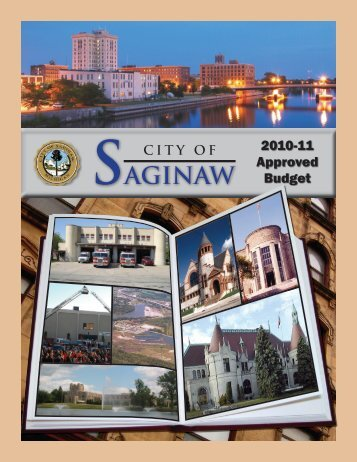 2010-2011 Budget - City of Saginaw MI