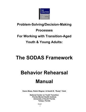 The SODAS Framework Behavior Rehearsal Manual