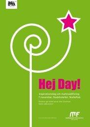 Inspirationsdag om marknadsföring 7 november, Stadshotellet ...