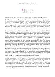 Teemanumero (4/2013) - Sosiaalipoliittinen yhdistys ry