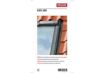 Gevelelement type vfe vfa vfb velux for Velux ksx 100 prezzo