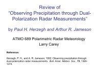 "Review of ""Observing Precipitation through Dual-Polarization Radar ..."