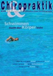 Ausgabe 2-2009 - ChiroSuisse