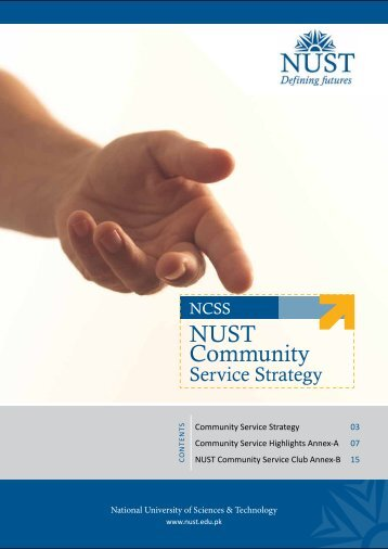 NUST Community Service Strategy.pdf - National University of ...