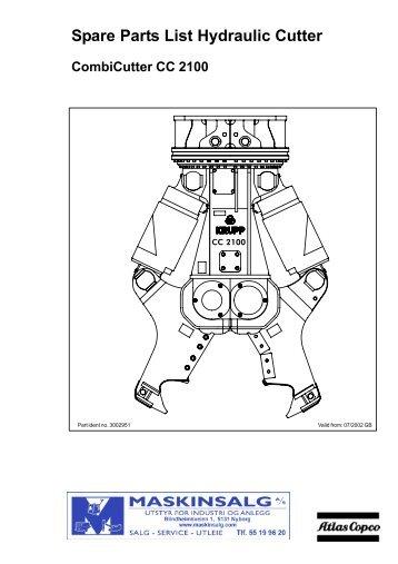 atlas copco tex 220 ps parts maskinsalg as. Black Bedroom Furniture Sets. Home Design Ideas