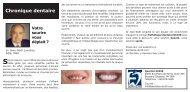Chronique dentaire - Weblocal.ca