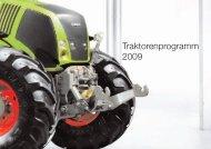 Traktorenprogramm 2009 - Kaufmann Landtechnik GmbH