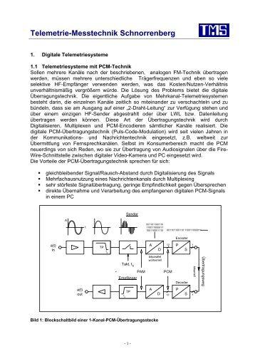 Digitale-Telemetrie (pdf) - TMS · Telemetrie-Messtechnik ...