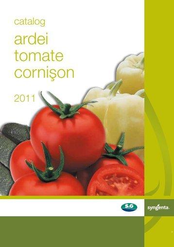 Catalog Syngenta seminte ardei, tomate, cornison - ecoplant.ro