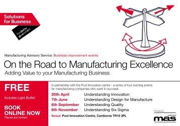 Business improvement events - SWMAS