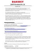 ZAPP-Rundbrief Nr. 29 - DAKOSY Datenkommunikationssystem AG - Page 2