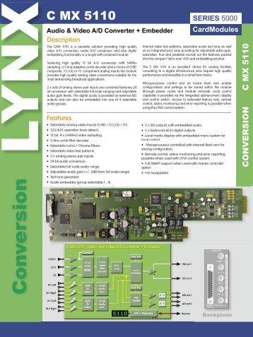 Con v ersion - LYNX Technik AG
