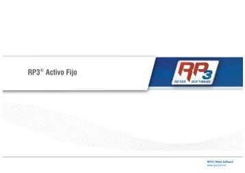 RP3® Activo Fijo - RP3 Retail Software