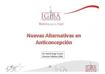 Dr. David Jorge Fusaro Director Médico IGBA