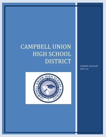 Course Catalog - Westmont High School - Campbell Union High ...