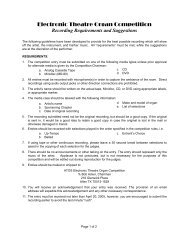 Recording Requirements, Printable Version - The Theatre Organ ...