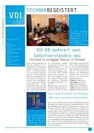 TECHNIKBEGEISTERT - VDI Berlin-Brandenburg