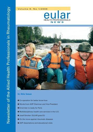 Newsletter 1/2008 - EULAR