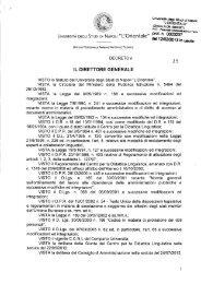 Bando CEL di madre lingua ungherese - Università degli studi di ...