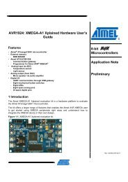AVR1924: XMEGA-A1 Xplained Hardware User Guide - Elfa