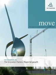 The Innovation Factory: Room for growth - WITTENSTEIN alpha