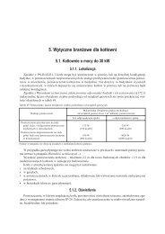 5. Wytyczne branżowe dla kotłowni 5.1. Kotłownie o ... - De Dietrich