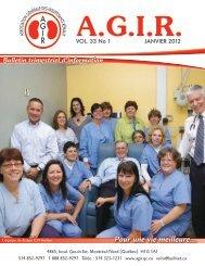 Janvier 2012 - Association générale des insuffisants rénaux