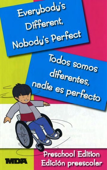 Everybody's Different, Nobody's Perfect / Todos somos diferentes ...